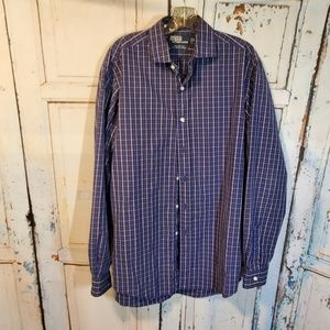 Polo Ralph Lauren Blue Button Up Shirt Size M